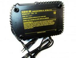 CARREGADOR 12V a 20V - ÍON DE LÍTIO -  110 V - DEWALT - USE N406057